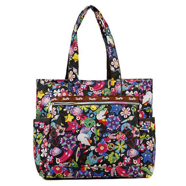 Květovaná kabelka - 5 variant 1