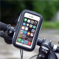 Voděodolný držák telefonu s upevněním na řidítka kola