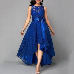 Dámské společenské šaty Gallia Modrá-velikost č. 4
