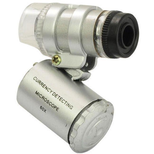 Zsebmikroszkóp LED megvilágítással 1