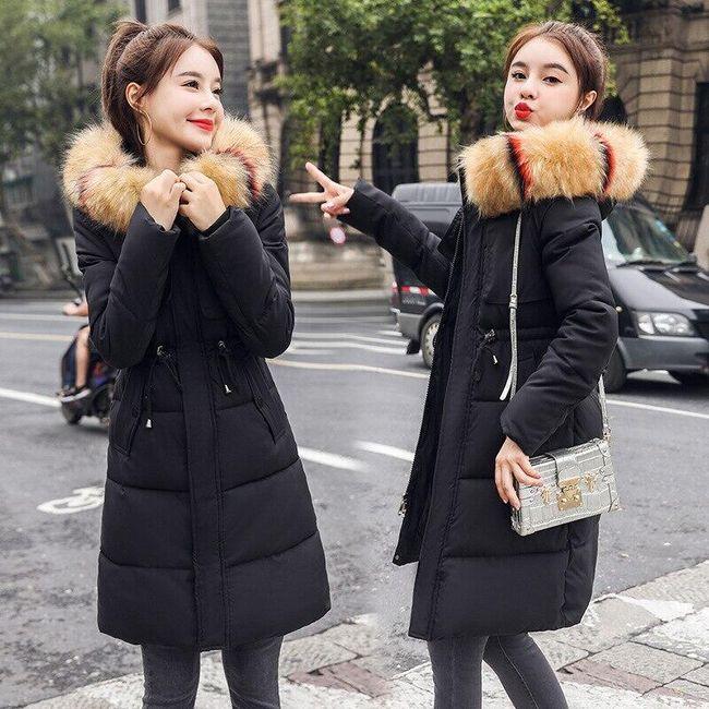 Női prémes kabát Isabella