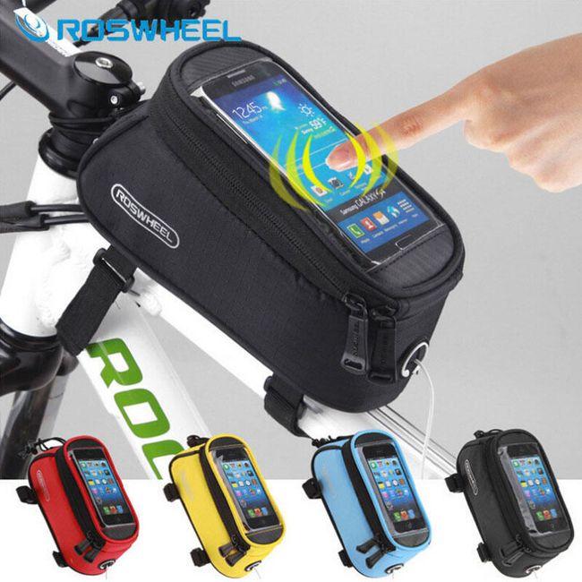 Brašna na jízdní kolo s kapsou na smartphone  1