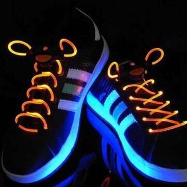 Светящиеся шнурки- 16 расцветок 1