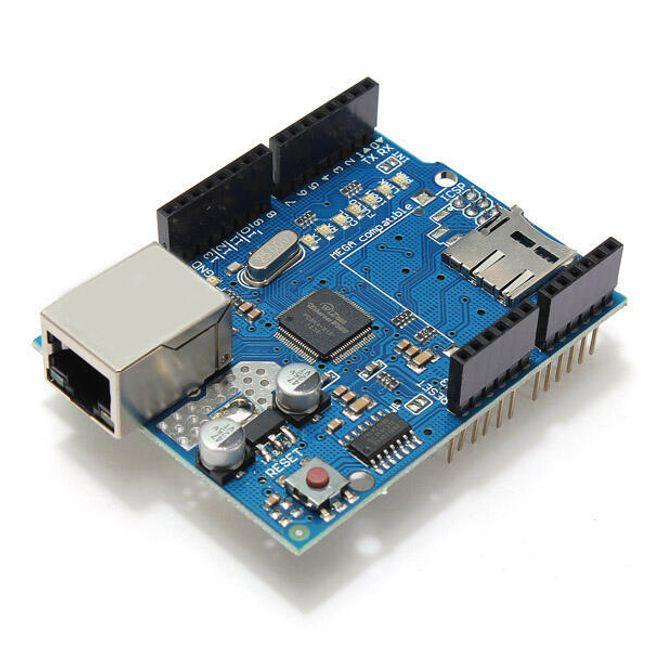Ethernet модул W5100 за Arduino 1