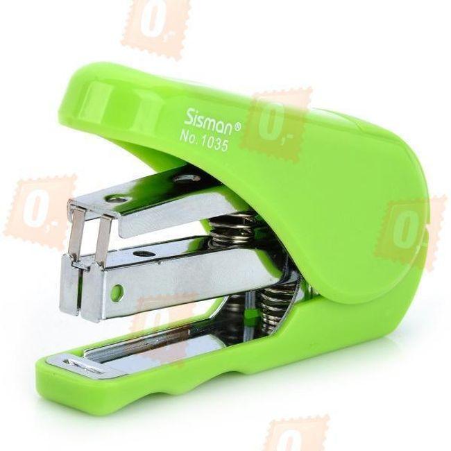 Zelená kapesní sešívačka 1