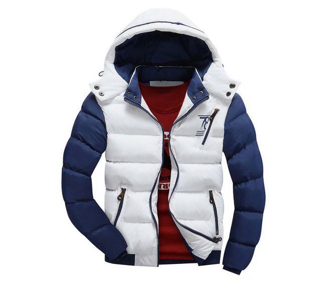 Muška prošivana zimska jakna - 5 boja 1