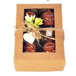 Dárková krabička - Ochucený med