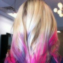 Színes haj kréta - 7 árnyalat