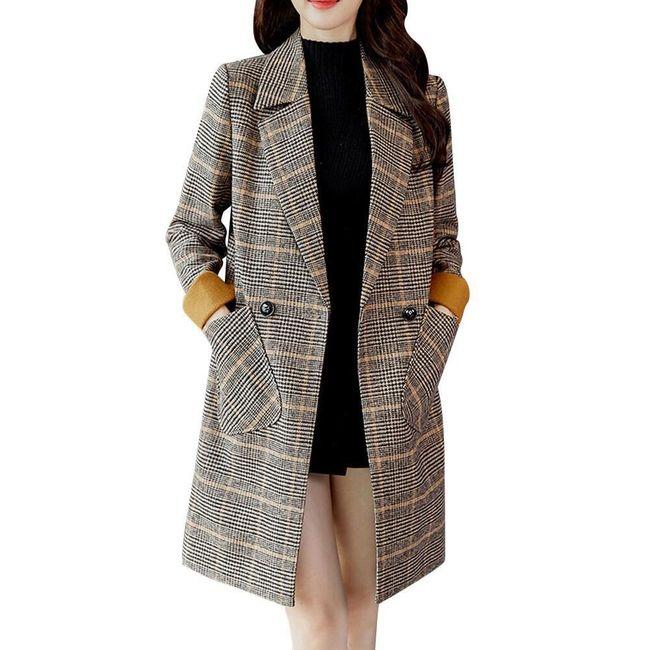 Dámský vintage kabát Merlyn - 5 velikostí 1