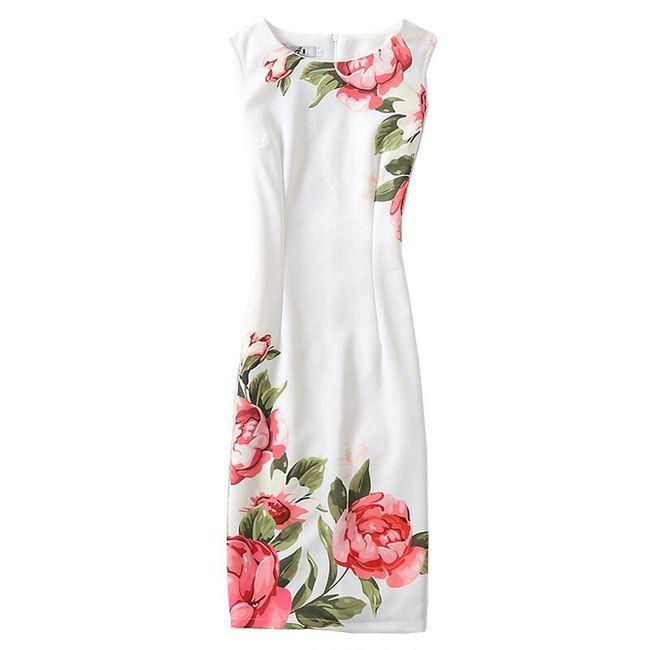 Элегантное платье футляр- разные мотивы 1