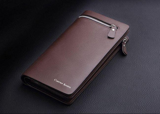 Dlouhá pánská peněženka - 2 barvy 1