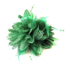 Ozdobná květina do vlasů - 8 barev