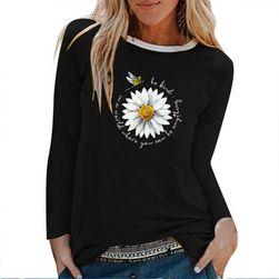Ženska majica z dolgimi rokavi DT47