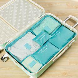 Set organizator bagaje călătorie  6 piese - 8 culori