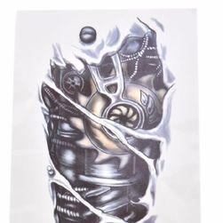 3D tetovaža - mehanička ruka
