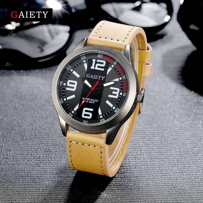 Pánské hodinky s velkými čísly 1