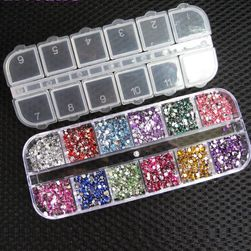 3.000 dekorativnih kamenčića za nokte