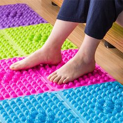 Masážní podložka na nohy - 6 barev