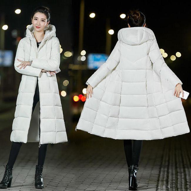 Dámský péřový kabát Margot 1