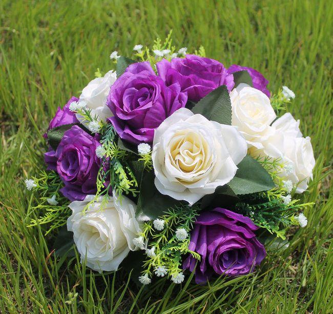 Sztuczne kwiaty Rose 1