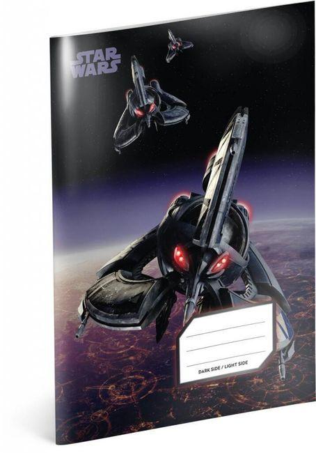 Iskola füzet Csillagok háborúja (Star Wars) - Tri Fighter sz.544 - 5 db 1