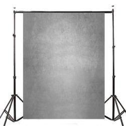 Fotografska pozadina u sivoj boji - 1,5 x 2,1 m