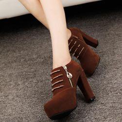 Dámské boty na podpatku Carlotta