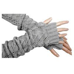 Pletené bezprsté rukavice - 4 barvy