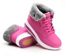 Zimné topánky Maci - 3 farby Červena -37.5