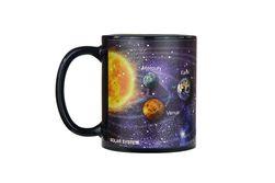 Променяща се чаша с мотиви на космоса