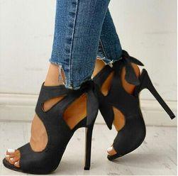 Dámské boty na podpatku R55