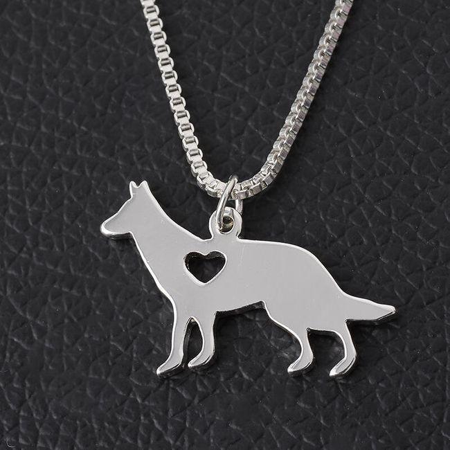 Ogrlica z motivi različnih pasem psov - Nemški ovčar 1 1