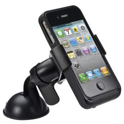 Univerzalni držač za mobilne uređaje u crnoj boji