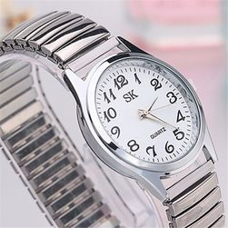 Zegarek naręczny z elastycznym paskiem