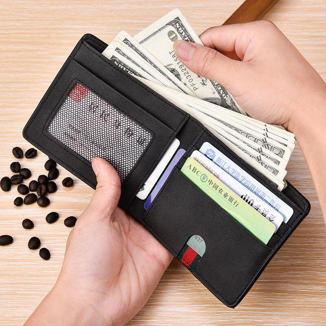 Férfi pénztárca - variációk motívummal és anélkül