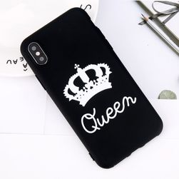 Maska za iPhone - QUEEN, KING