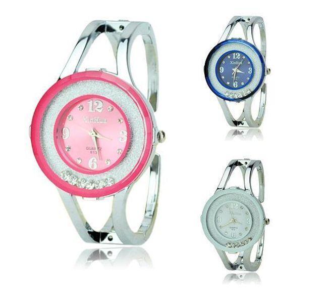 Damski zegarek na rękę z modną tarczą - 3 kolory 1