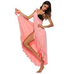 Платье с запахом Carita