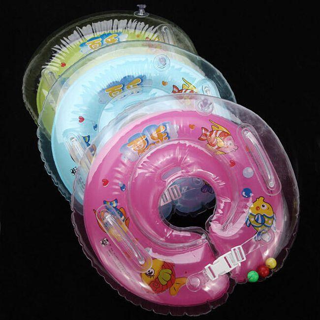 Dečiji prsten na naduvavanje sa dvostrukim sigurnosnim pojasem 1