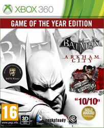 Hra (Xbox 360) Batman: Arkham City Game Of The Year edition