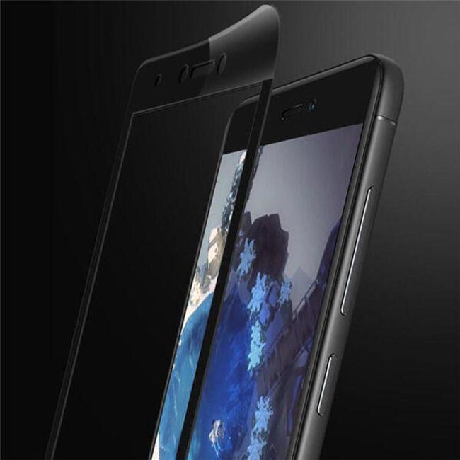 Tvrzené sklo s plastovým rámem pro Xiaomi Redmi Note 4X 1