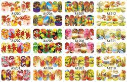 Stickere pentru unghii cu model autumnal