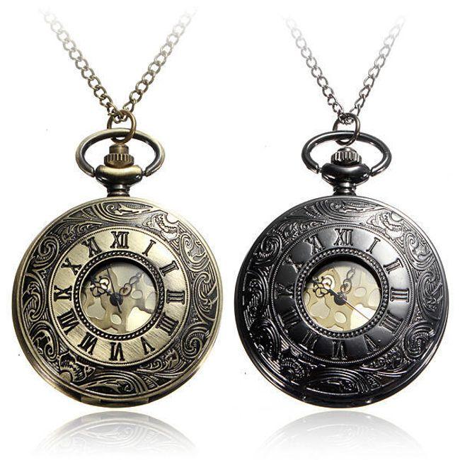 Moška žepna ura z rimskimi številkami 1