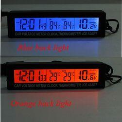 Woltomierz z czasomierzem i termometrem