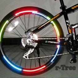 Reflektirajuće nalepnice za točak bicikla - više boja