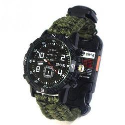 Taktični paracord sat sa kompasom Rocky