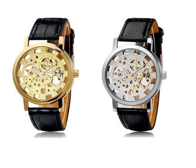 Unisex samonatahovací hodinky s římskými číslicemi - 2 barvy 1