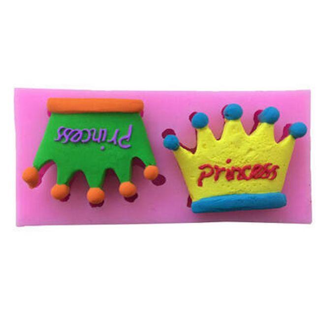 Szilikon sütőforma hercegnő korona alakjában 1
