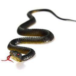 Halloweenská rekvizita - gumový had