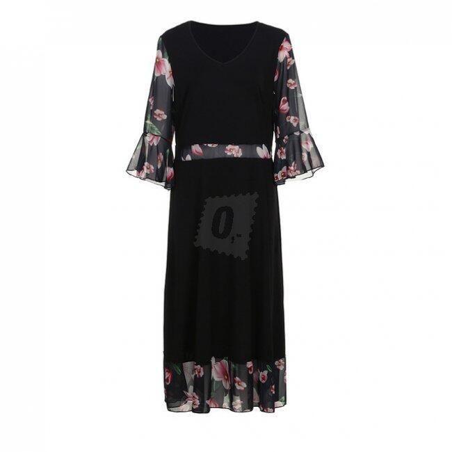Женское платье размера плюс Lotus 1